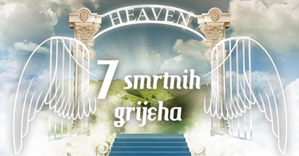 7 Smrtnih grijeha – tematski stand up show