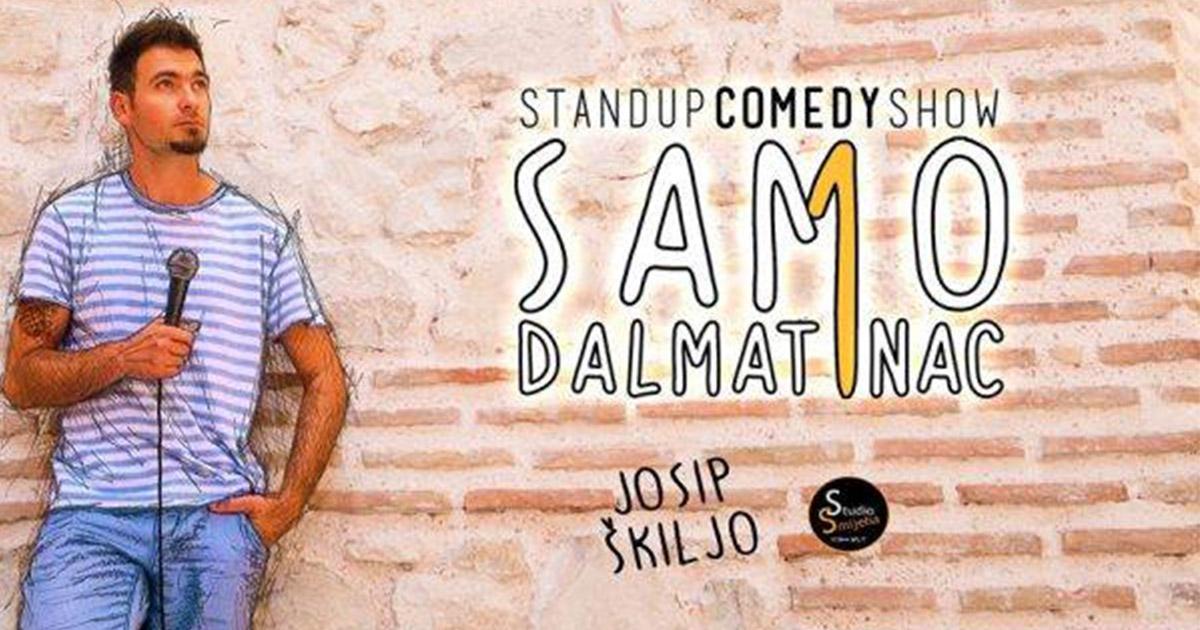 Samo-jedan-Dalmatinac---Josip-Škiljo-one-man-stand-up
