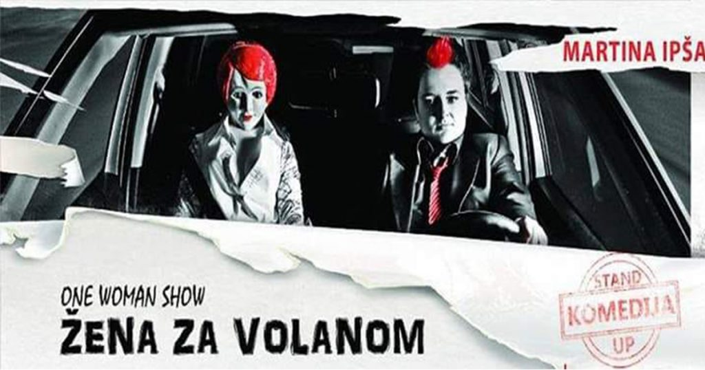Žena-za-volanom---Martina-Ipša-One-Woman-Show