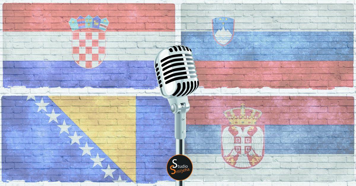 EX YU stand up večer Hr-Slo-BiH-Srb