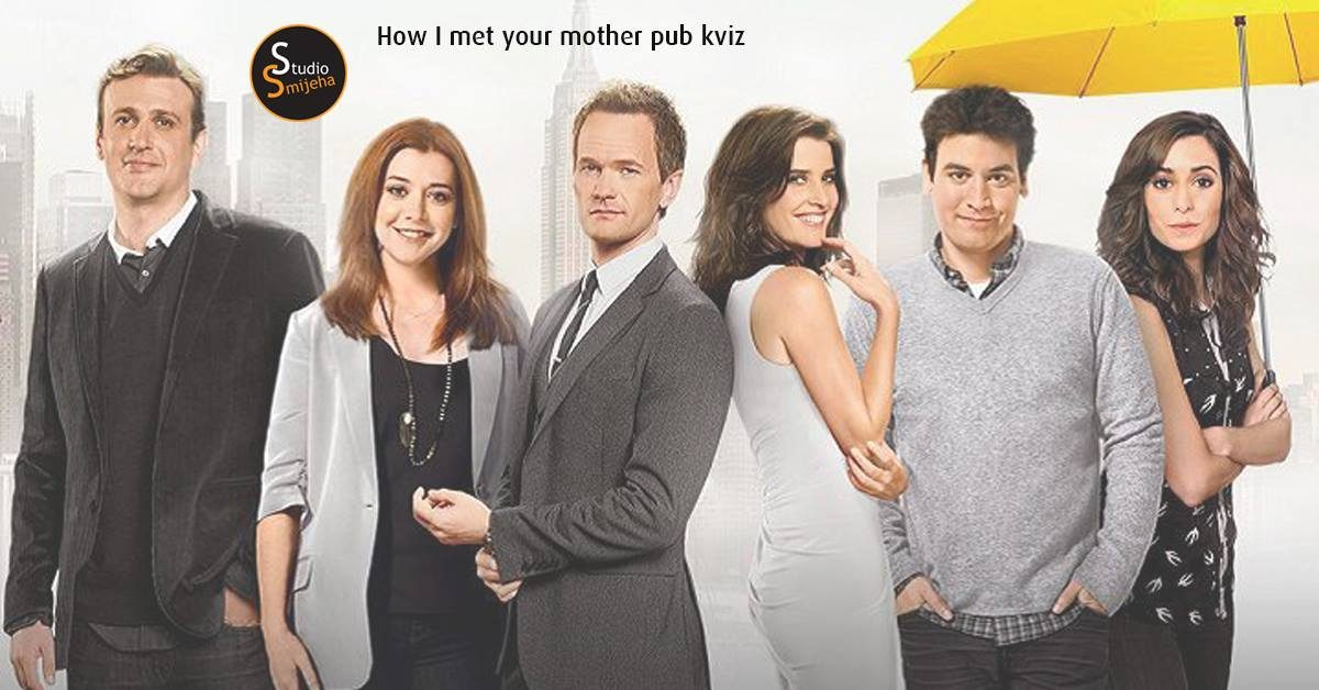 How I met your mother S01 pub quiz