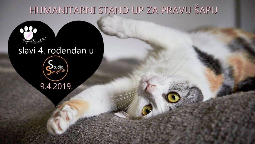 Humanitarni stand up za Pravu Šapu
