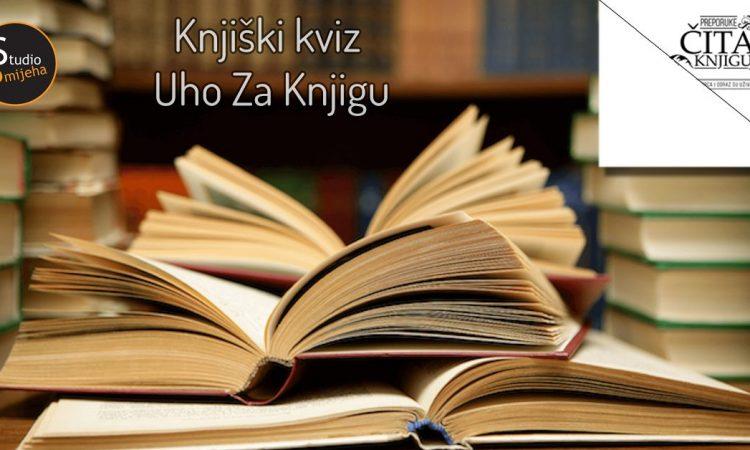 """Knjiški kviz """"Uho za kviz"""" by Čitam Knjigu"""
