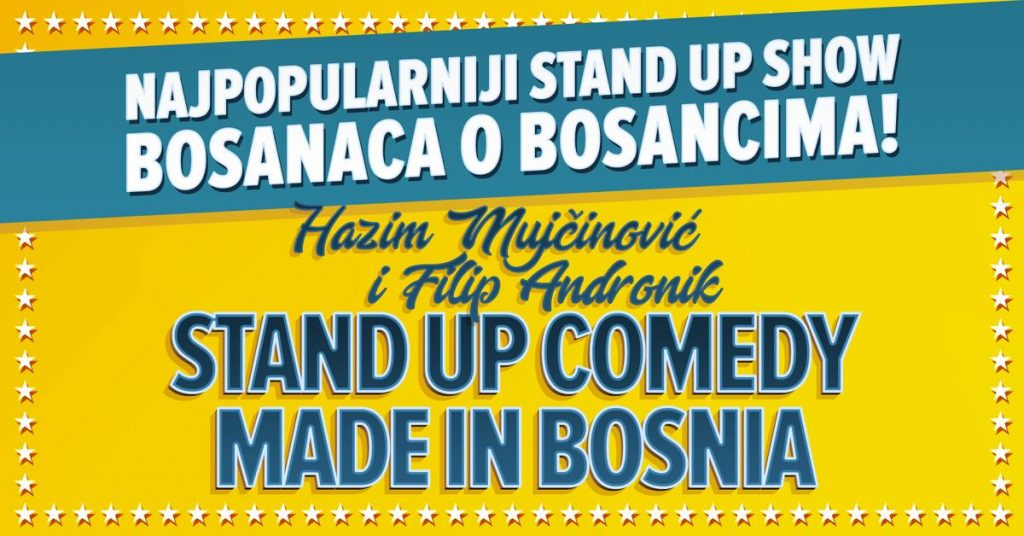made in Bosnia stand up show