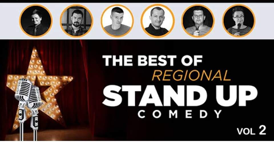 Stream Best of regional stand up vol 2 iz Lisinskog