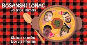 Bosanski lonac stand up večer BiH humora