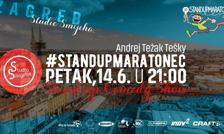 5. #standupmaratonec 2019 - Zagreb