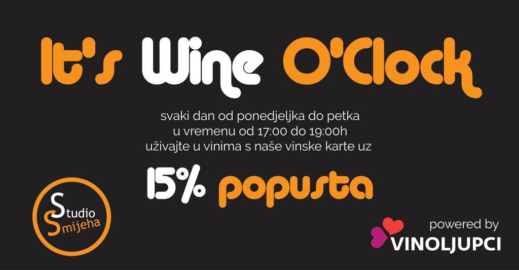 It's wine o clock Studio Smijeha