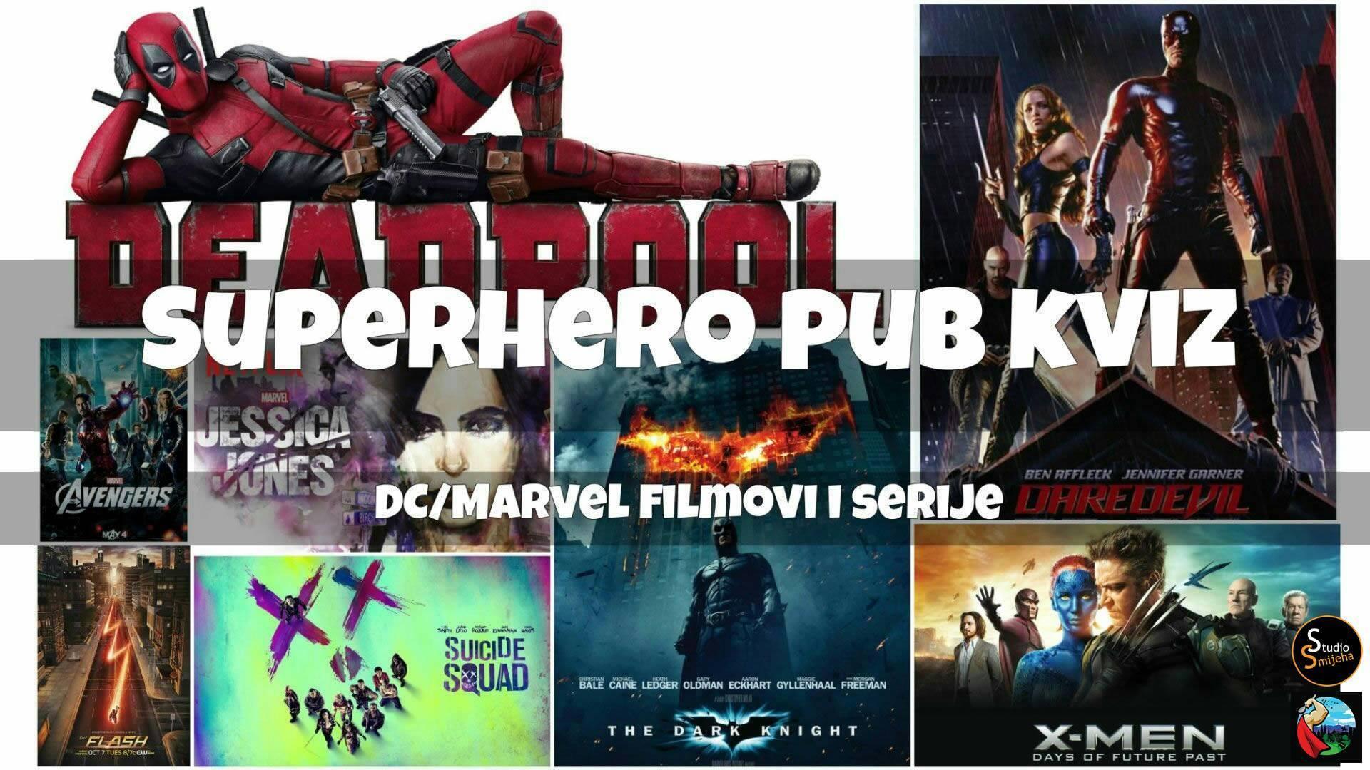 Superhero pub kviz: DC/Marvel filmovi i serije