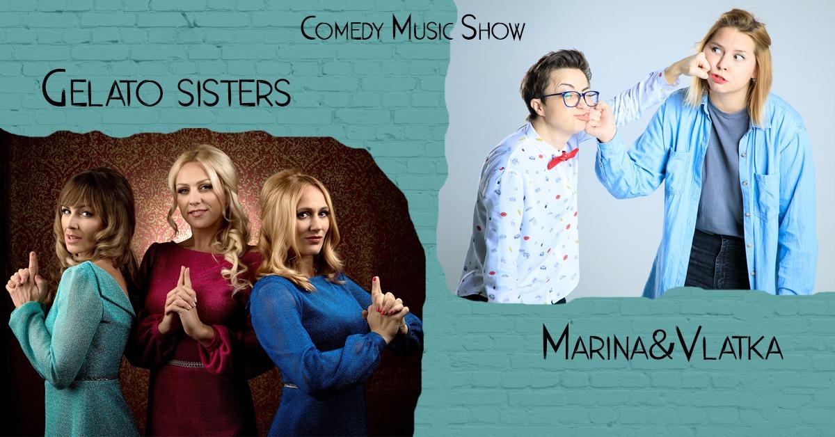 Comedy Music Show - Gelato Sisters StudioSmijehaLadies