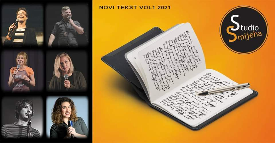 27.02. Stand Up Premijera Novi tekst vol 1 2021 @ SSI Katran u 20:00h