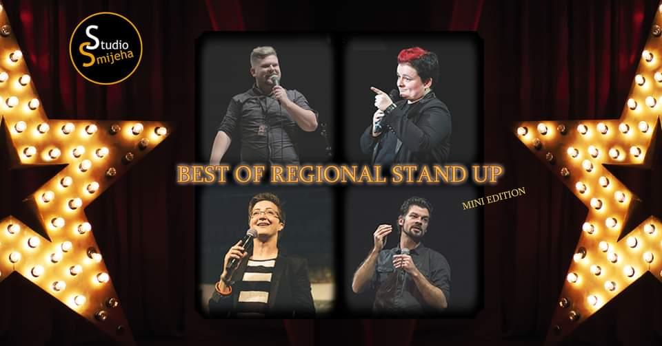 Best of regional stand up Zagreb (Srb/Slo/BiH/Hr) - mini edition