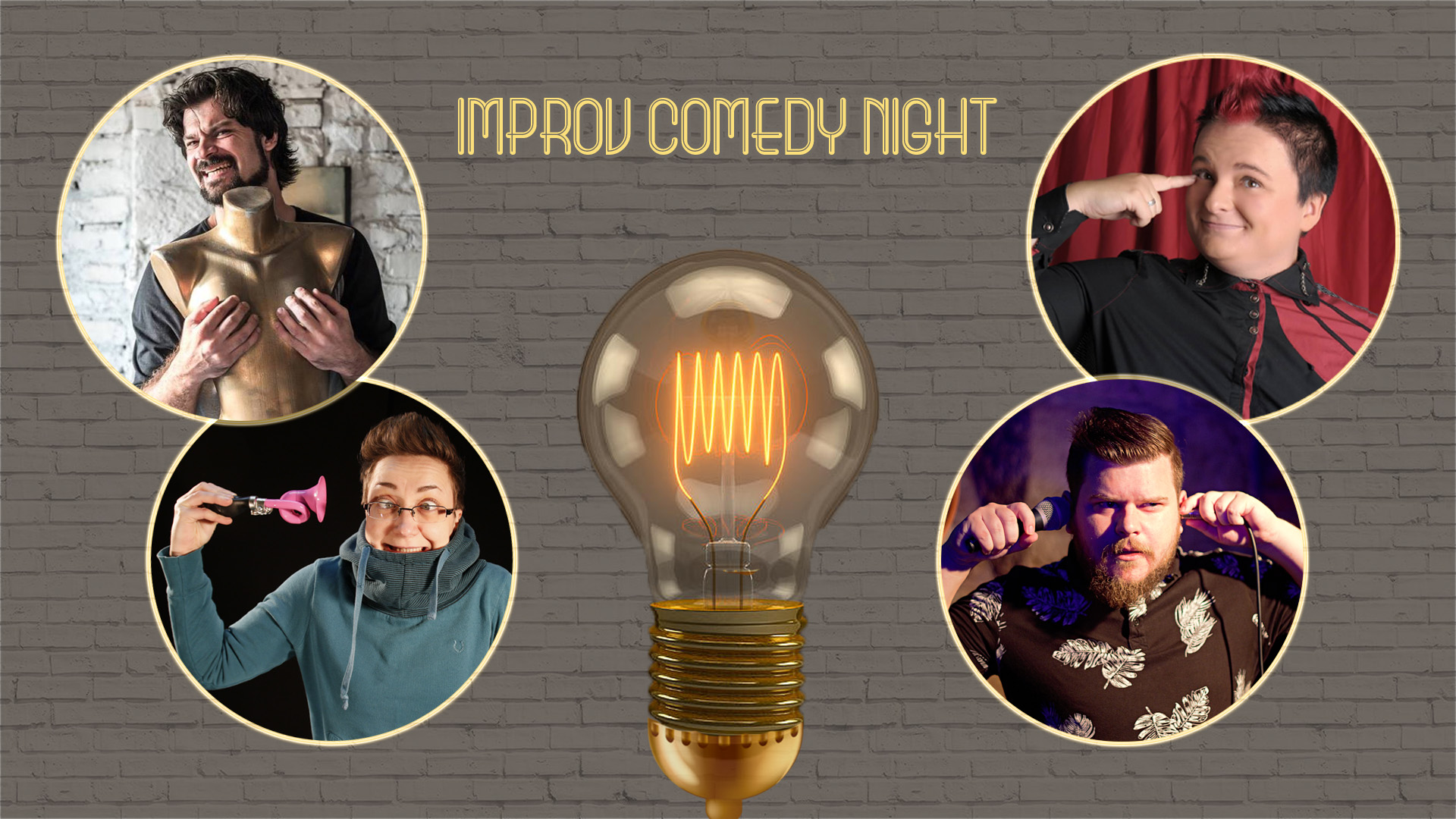 Improv Comedy Night (Hr-Srb-Slo-BiH) - vecer improvizacija